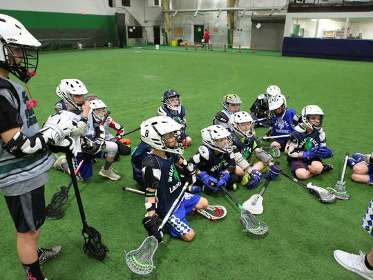 The Southern Tier Wolf Pack practice Sunday, March
