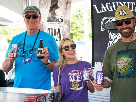 Lagunitas is coming back as the TurtleFest beer sponsor,