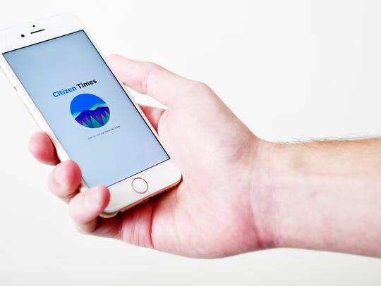 Citizen Times mobile app