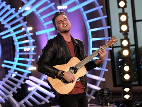 """Cape Coral native Ricky Manning performs during his March 18 audition on """"American Idol"""""""