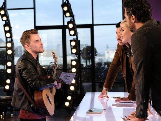 """Cape Coral native Ricky Manning during his March 18 audition on """"American Idol"""""""