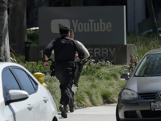 AP YOUTUBE SHOOTING A USA CA