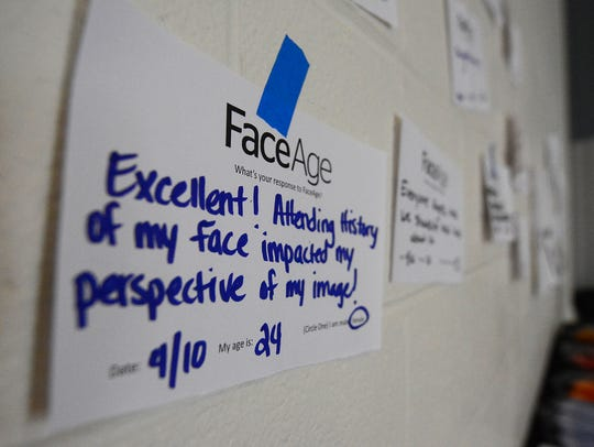 Attendees of the FaceAge project at Penn State York