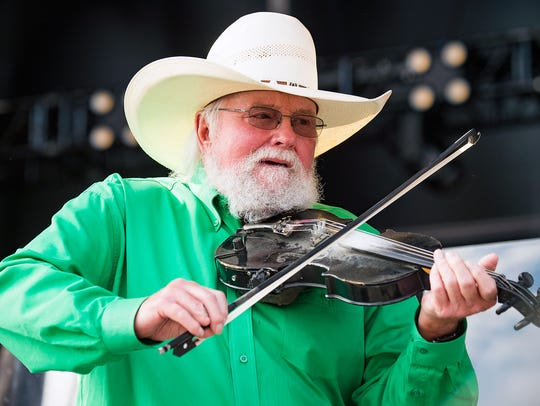 Charlie Daniels performs during the Faster Horses Festival
