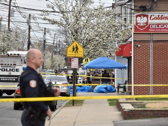 Fatal pedestrian accident in Garfield, NJ.