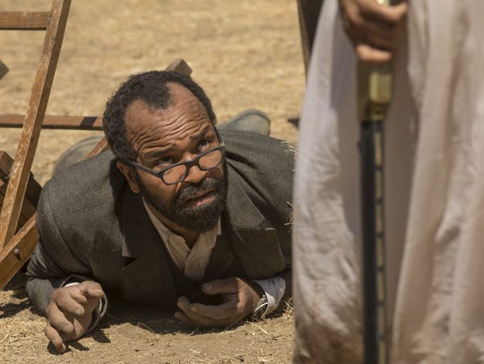 "Bernard (Jeffrey Wright) has taken a beating during Season 2 of HBO's ""Westworld,"" but he's picking up valuable information about the park and himself."