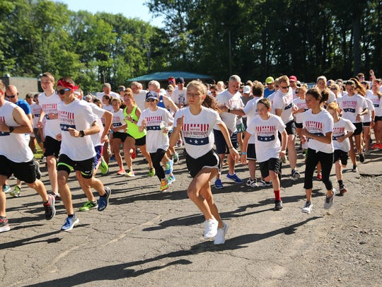 The Colors of Independence 5K Run/Walk in July 2017