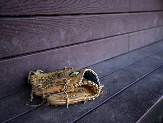 Baseball scenic art