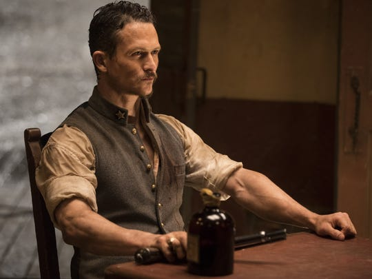 "Major Craddock (Jonathan Tucker) on ""Westworld."""
