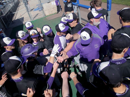 North Kitsap's baseball team will play in the regional round of the Class 2A state tournament next weekend in Centralia.