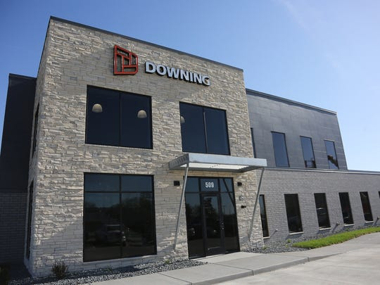 The outside of the new Downing building in Indianola,