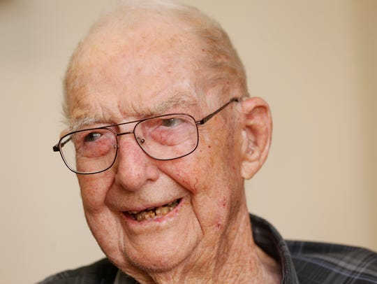 Morris Clark, 96, recounts some of his favorite memories