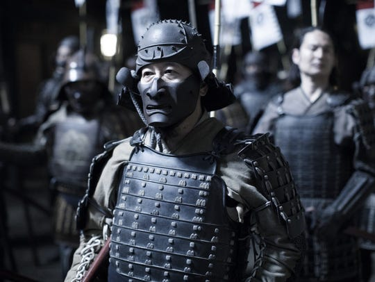 "A warrior in Shogun world on ""Westworld."""