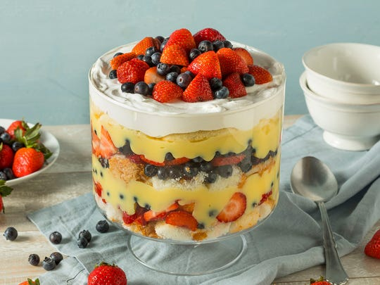 Wondering what to eat while watching the royal wedding? You can't go wrong with trifle.