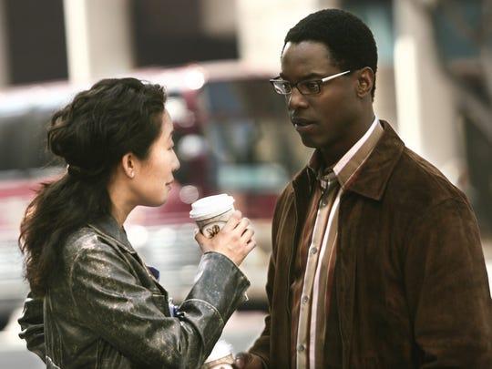 """Sandra Oh and Isaiah Washington star in """"Grey's Anatomy."""""""