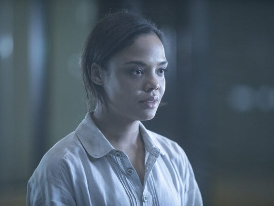 "Charlotte (Tessa Thompson) on ""Westworld."""