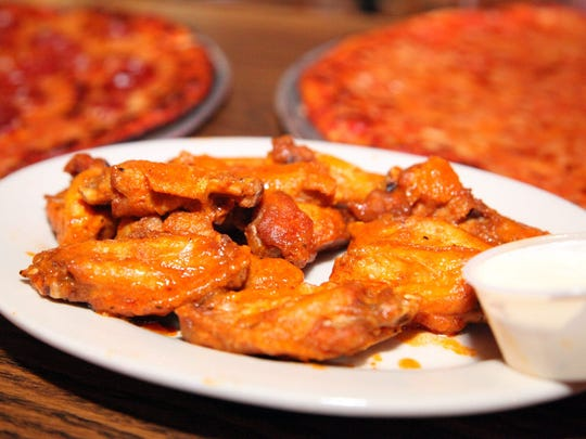 Wings from the Star Tavern in Orange.