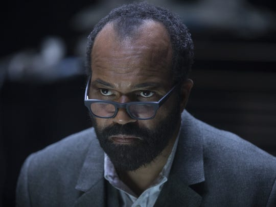 "Bernard (Jeffrey Wright) on ""Westworld."""