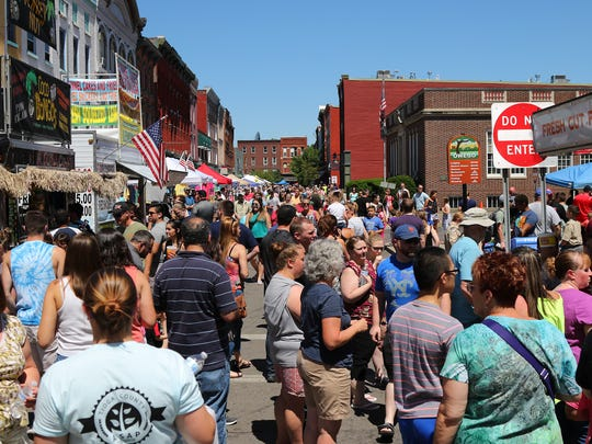The 38th Annual Strawberry Festival was held June 15-16, 2018 in Downtown Owego.