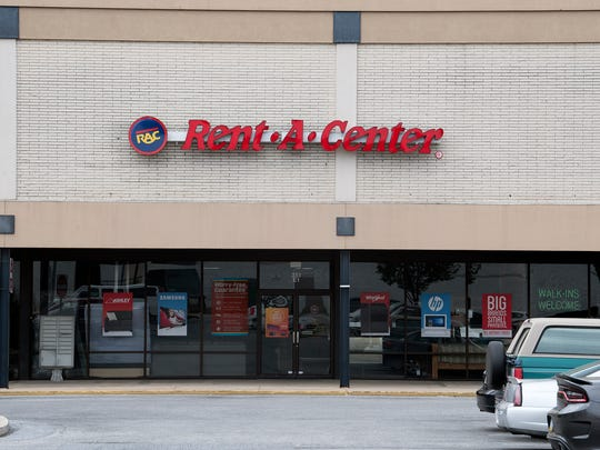 In this photo, Rent-A-Center on Loucks Road in Manchester Township is pictured.