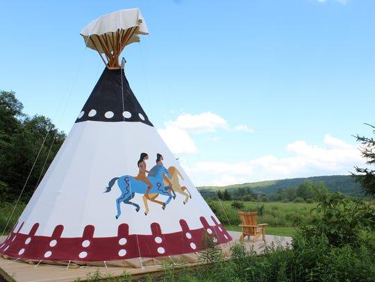 Apache tepee