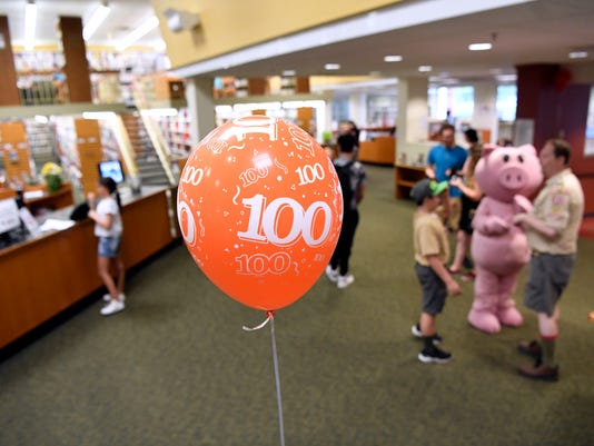 Bergenfield Library 100th