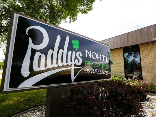 Paddy's North Pizza Pub on Scott Street in Fond du