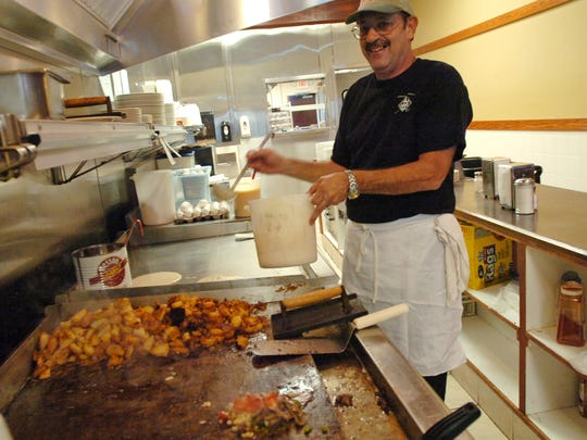 The Hot Shot Cafe's cook Gary Ogden on the restaurant's