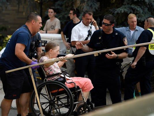 Nursing home evacuated