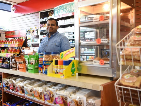 Mike Ahmed is the new owner of Krauszer's Food Store and Village Stationers in Ramsey on W. Main St. to care for his ill son. Former owner Kirit Patel sold the stores to care for his ill son.