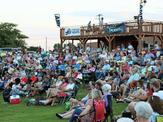 The Jackson AMP summer concert series continued with