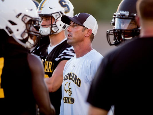 Saguaro Sabercats First 2018-2019 Football Practice