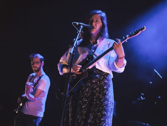 Lucy Dacus opens for the National at the Riverside