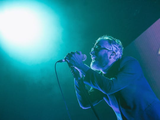 The National performs at a sold-out Riverside Theater