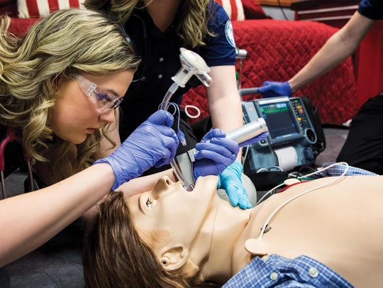 Ozarks Technical Community College's emergency medical