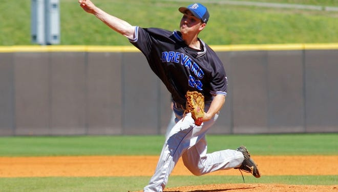 Owen alum J.D. Chaplain is a senior pitcher for the Brevard College baseball team.