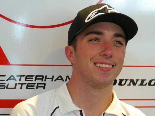 American Josh Herrin hopes to see improvement in Moto2.