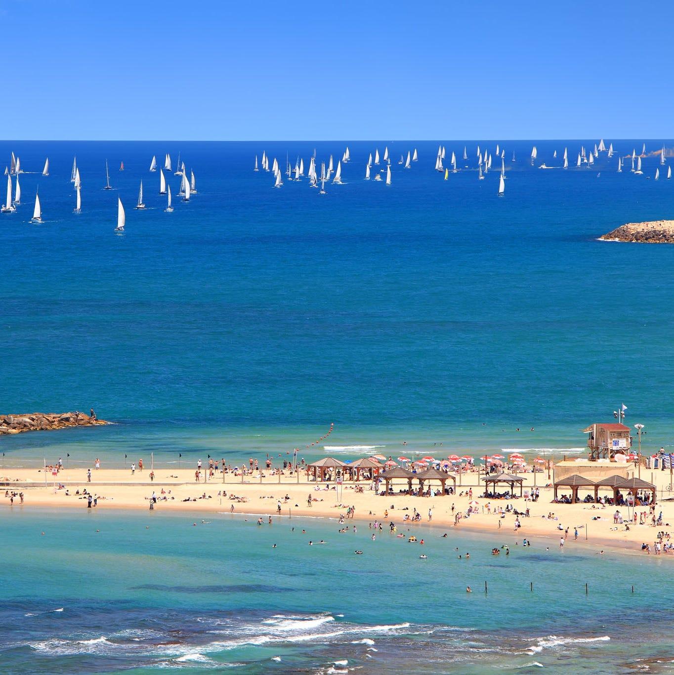 Spectacular city beaches