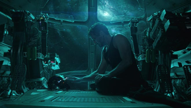 """Robert Downey Jr. stars in """"Avengers: Endgame."""" The movie is playing at Regal West Manchester Stadium 13, Frank Theatres Queensgate Stadium 13 and R/C Hanover Movies."""
