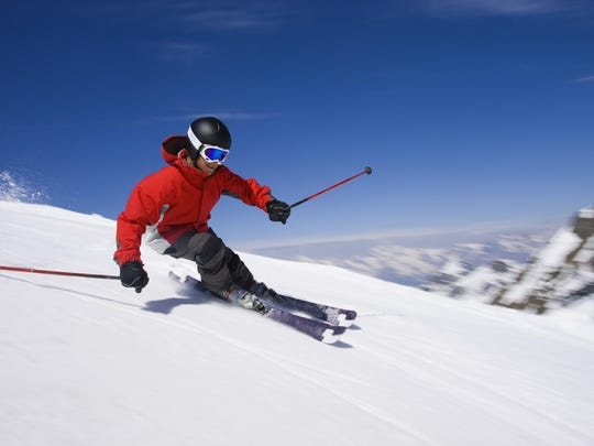 Succeeding in business, as in skiing, means you must commit to the turn.