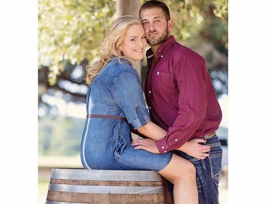 Kristen Webernick and her husband, Zack.