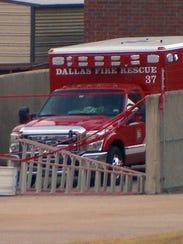 Dallas Fire-Rescue ambulance No. 37