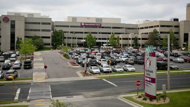 Marshfield Clinic's campus in Marshfield.