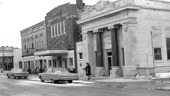 SNAPSHOT IN TIME: Flora Lee Beauty Shoppe was near the intersection of Steele and Second streets, on the left side of the block as seen here, in Algoma in 1971 when Harold Heidmann snapped this picture.   Huntington Bank and its parking lot fill the space that once held Meyer's Plumbing, Community State Bank and the Flora Lee. VandeWalle's Garage was across Second Street.  The Flora Lee was a longtime Algoma business that closed its doors late in 2017. In December 1941, the shop not only provided hair styling and beauty products, it also sold women's clothing. Flora Lee, most recently on the southeast corner of Fourth and Clark streets, was an Algoma fixture for over 75 years when it closed just before Christmas.   The photo comes from the Heidmann Collection at the Algoma Public Library.