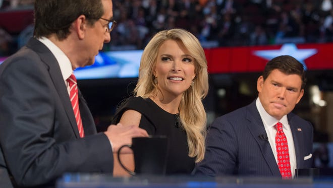 Bret Baier and co-debate moderator Megyn Kelly received some criticism for their questions at the first GOP debate in August.