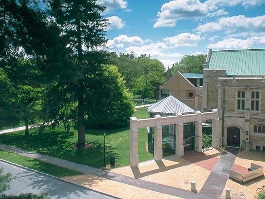 Vassar art center exterior