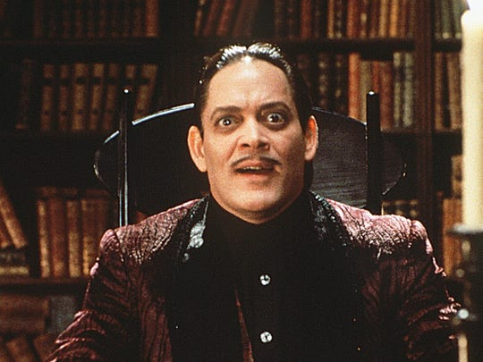 Raul Julia as Gomez in the 1991 'The Addams Family' movie.