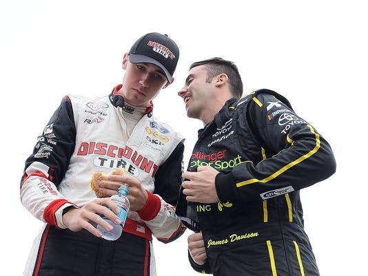 NASCAR Xfinity Series Johnsonville 180 - Practice