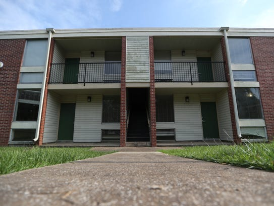 Palmetto North, a student apartment complex south of