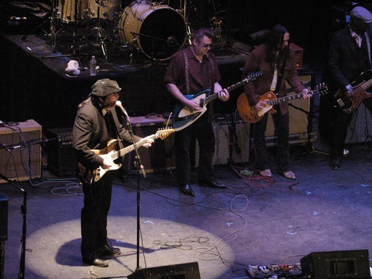 Billy Hector (left), shown performing in 2011 at the